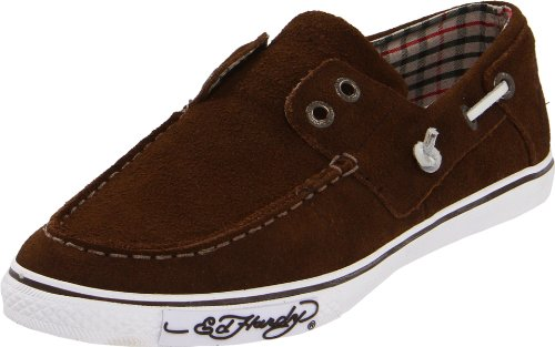 ED HARDY Women's NALO Shoe, Brown, 6 M US Ed Hardy Womens Sneakers