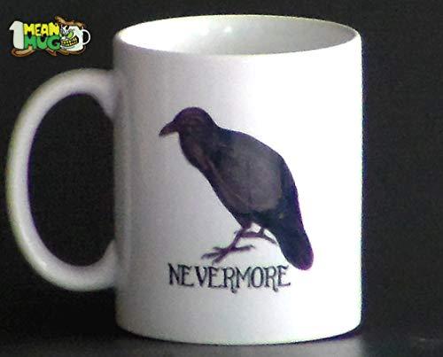 Raven Nevermore Coffee Mug- 11 oz Edgar Allan
