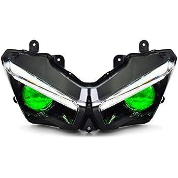 Amazon.com: KT Full LED Headlight Assembly for Kawasaki ...
