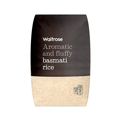 Aromatic Basmati Rice Waitrose 2kg - Pack of 4 by WAITROSE