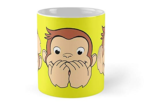 Blade South Mug - Curious George Mug - 11oz Mug - Made from Ceramic - Best gift for family friends for $<!--$13.95-->