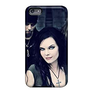 Shock-Absorbing Hard Cell-phone Cases For Iphone 6 With Support Your Personal Customized Beautiful Nightwish Band Series JonBradica