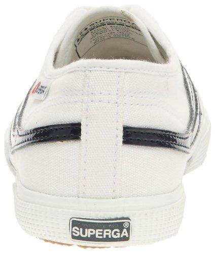 Superga - Zapatillas de tela unisex Blanco (Bianco (Weiß (Weiß)))