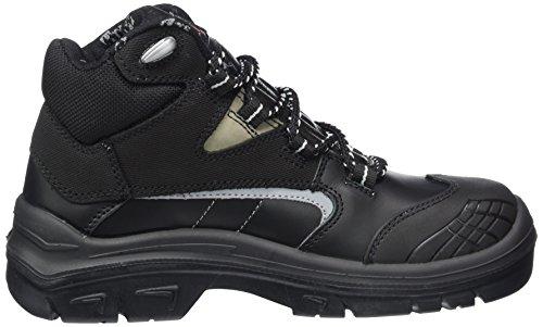 MTS Sicherheitsschuhe   Titan S3 Flex ÜK 15173 - Zapatos De Seguridad de piel Unisex adulto negro - negro