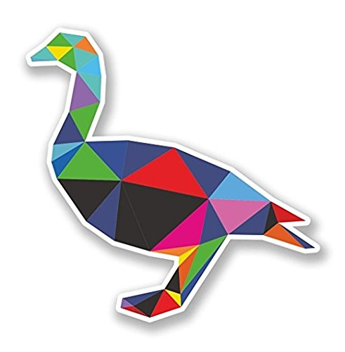 3 Pack - Funky Duck WINDOW CLING STICKER
