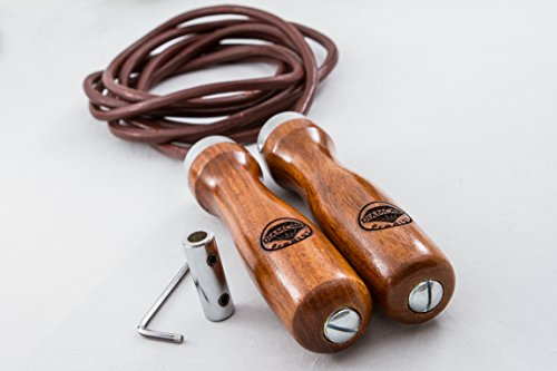 Leather Jump Rope Diamond Prodigy with Adjustable Length of Rope Review