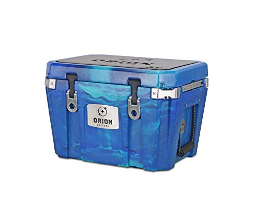 Orion Heavy Duty Premium Cooler (35 Quart, Ocean), Durable Insulated Outdoor Ice Chest for Maximum Cold Retention - Portable, Bear Resistant, and Long Lasting, Great for Hunting, Fishing, Camping