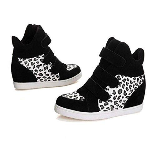 TPulling Herbst Und Winter Frühling Modelle Schuhe Mode Damen Ladies Erhöhe Die Leinenschuhe Wärme Outdoor Booties Ankle Lässige Schuhe Martin Stiefe Weiß