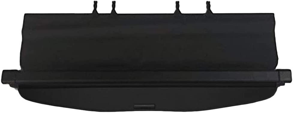 GTP Cargo Cover for 2014-2018 Subaru Forester Retractable Tonneau Rear Trunk Cargo Luggage Security Shade Shield Black ONLY fit Manual Rear gate, NOT fit Power Tailgate
