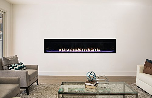 AMERICAN HEARTH Boulevard Vent Free 72 inch Fireplace Natural Gas