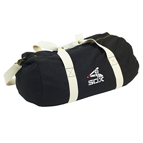 Logo MLB Chicago White Sox Cooperstown Sandlot Duffel Bag, Black ()