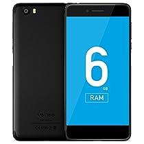 Vernee Mars - Cellulare Pro 4G Phablet Android 7.0,display da 5,5pollici, Helio P25 Octa-Core da 2,5GHz, 6GB di RAM, 64GB di ROM con sensore di impronte digitali, fotocamera posteriore in metallo da 13 OMP