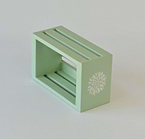 Amazon Small Decorative Boxes: Amazon.com: Light Green Small Decorative Wooden Crate With