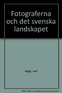 Hardcover Fotograferna och det svenska landskapet (Swedish Edition) [Swedish] Book