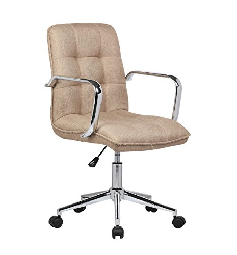 Porthos Home Theresa Office Chair, Natural