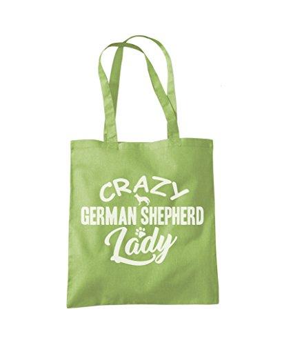 Tote Bag Green Shepherd Crazy German Kiwi Fashion Lady Shopper pxTBt4wq