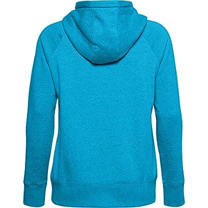 Under Armour Women's Rival Fleece Logo Hoodie Warm-up Top 2