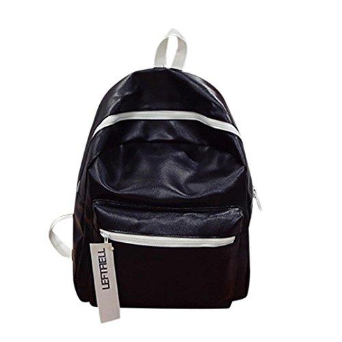 Clearance Sale! Fashion Leather School Rucksack Bag Gripesack Backpack Handbag Bookbag ❤️ ZYEE