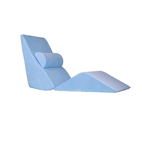 JKL J-Pillow Triangle - Cojín de cuña para Cama, cojín ...