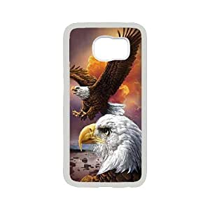 Best-Diy K-G-X cell phone case cover For Samsung Galaxy S6 case cover-Pattern-10 Flying Eagles oLba1i4T0TB protective Back case cover