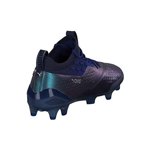 Blue One Puma De Sodalite puma Ag Fg Foot Hommes Chaussures Silver Pour Lth 164Rq6v