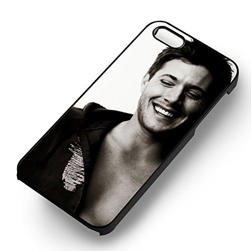 Supernatural Handsome Jensen Ackles pour Coque Iphone 6 et Coque Iphone 6s Case (Noir Boîtier en plastique dur) J8T6QL
