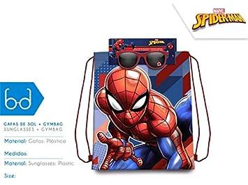 Spiderman Set Bolsa Cordones gymbag Gafas de Sol Montañismo ...