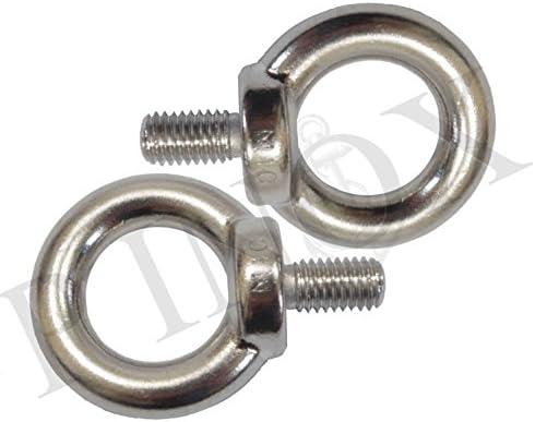 Anillas de varilla roscada (lote de 2) M 10 mm acero ...