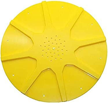 Tuneway Colmena Fondo Amarillo Anti-Escape Disco PláStico Equipo de Apicultura Apicultura Control de Vuelo Colmena Herramientas de Abejas 10 Piezas