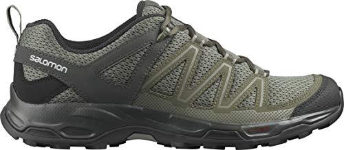 Salomon Men's Pathfinder Hiking Shoe, Vetiver/Olive Night/Peat