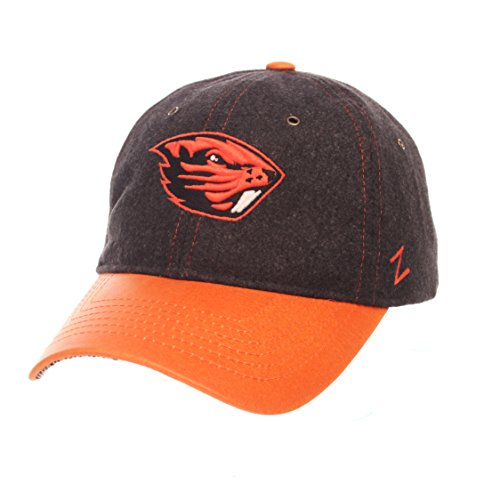 NCAA Oregon State Beavers Adult Men Alum Heritage Collection Hat, Adjustable, Heather Gray