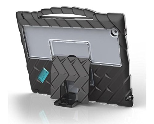 Gumdrop DropTech Lock-Down Case Designed for The Apple iPad 6th Gen Tablet for K-12 Students, Teachers, Kids - Black, Rugged, Shock Absorbing, Extreme Drop Protection