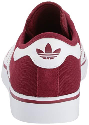 adidas Originals Men's adi-Ease, Collegiate Burgundy/White/Gum 5.5 M US by adidas Originals (Image #2)