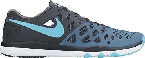 Nike Train Speed 4, Zapatillas de Senderismo para Hombre Industrial Blue/Chlorine Blue/Black