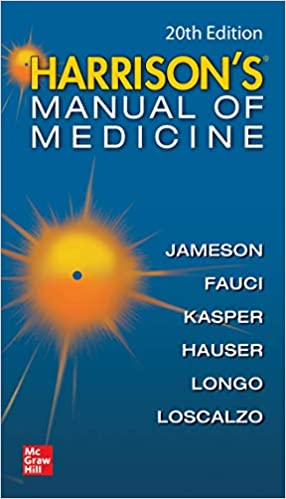 Harrisons Manual of Medicine, 20th Edition (Harrison's Manual of Medicine) - Original PDF