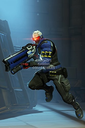 CGC Huge Poster - Overwatch Soldier 76 PS4 XBOX ONE - EXT537 (24
