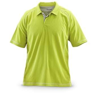 Guide Gear COOLMAX Polo Shirt, BLACK, M