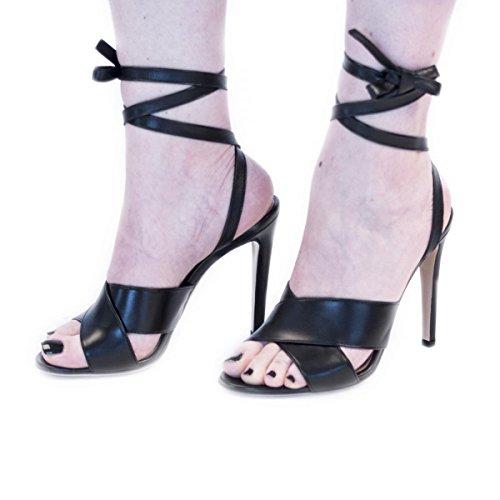 Gianvito Rossi, Kvinders Sandaler Sort Sort Nej