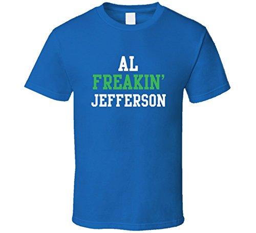 Al Jefferson Freakin Favorite Minnesota Basketball Player Fan T Shirt XL Royal Blue