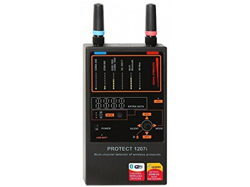 Spytec Protect 1207i - Multi-Channel Detector With Detection Range 30ft