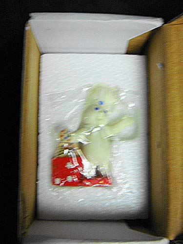 "Danbury Mint 1997 Pillsbury Doughboy 3"" Cold Cast Porcelain Perpetual Calendar Figurine-Month of December-New in Box-RARE"