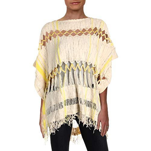 Free People Sundream Pullover (Ivory Combo, S)