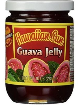 Hawaiian Sun Guava Jelly 10 Ounce Jar (PACK OF 2 JARS)