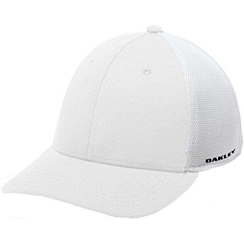 Oakley Men's Tinfoil Cap, Red Line, - Hat Red Oakley