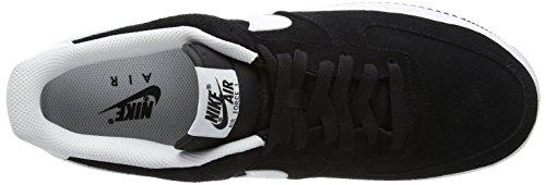 Nike Hommes Air Force 1 07 Qs Chaussures De Basket Noir / Blanc-m