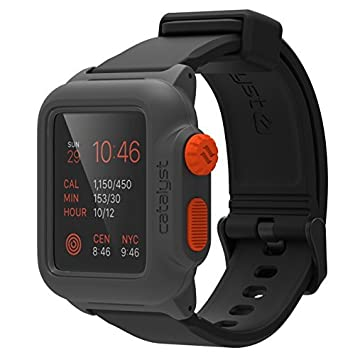 save off bc878 c0e81 Waterproof Case for Apple Watch Series 1 42mm by Catalyst, Shock Proof  Premium Material Quality for Hiking, Swimming, Beach trips, Kayaking,  Cruise ...