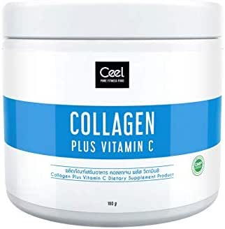 Ceel COLLAGEN PLUS VITAMIN C Dietary supplement product fitness & healthy food 180 g.