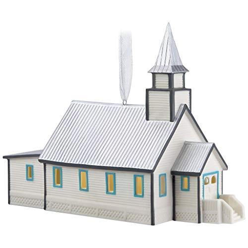 HKO - When Calls The Heart Hope Valley Church Porcelain 2018 Ornament ()