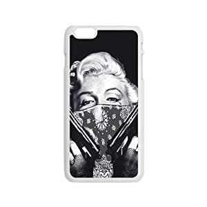 RHGGB Marilyn guns Case Cover For iPhone 6 Case