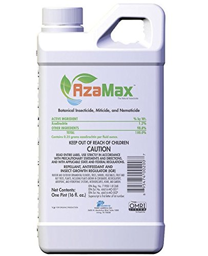 Azamax Insecticide 1pt by General Hydroponics